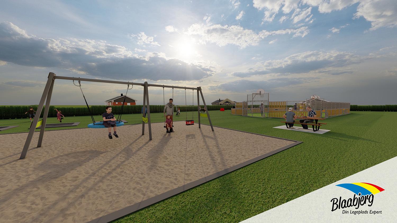 Sport og leg - område #1