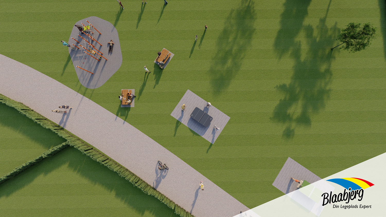 Sport og leg - område #2